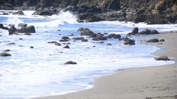 Time Lapse Of The Big Sur California Coastline 3