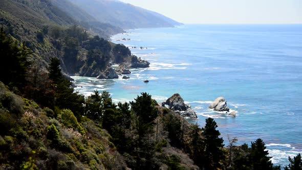 Time Lapse Of The Big Sur California Coastline 4