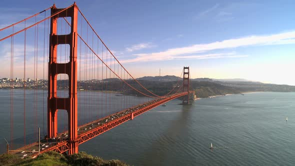 Time Lapse Of The Golden Gate Bridge San Francisco