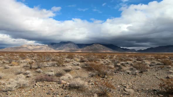 The Mojave Desert Storm Clouds Clip 2