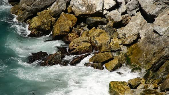 Pacific Ocean Waves Crashing On Rocks Big Sur 6