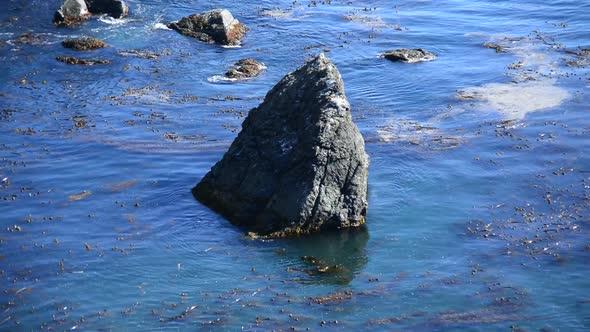 Pacific Ocean Waves Crashing On Rocks Big Sur 7