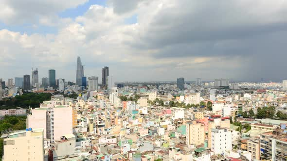 Ho Chi Minh City Vietnam From Above