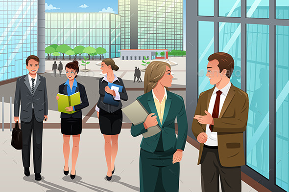 GraphicRiver Business People 10977730
