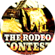 Rodeo Contest Sports Flyer - GraphicRiver Item for Sale