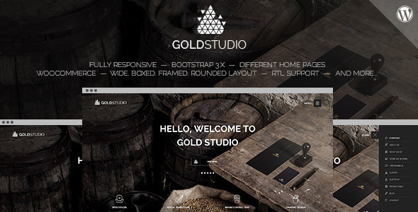 ThemeForest Gold Creative Wordpress Theme 10448972