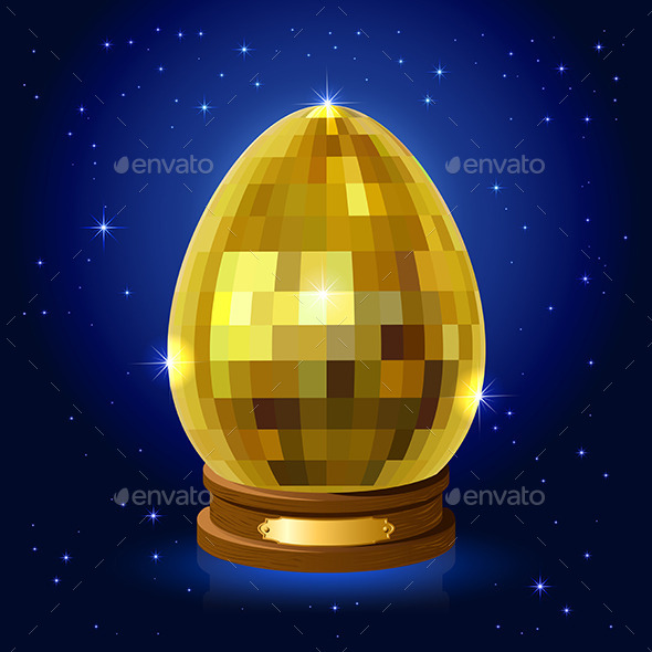 GraphicRiver Easter Egg on a Stand 10978061