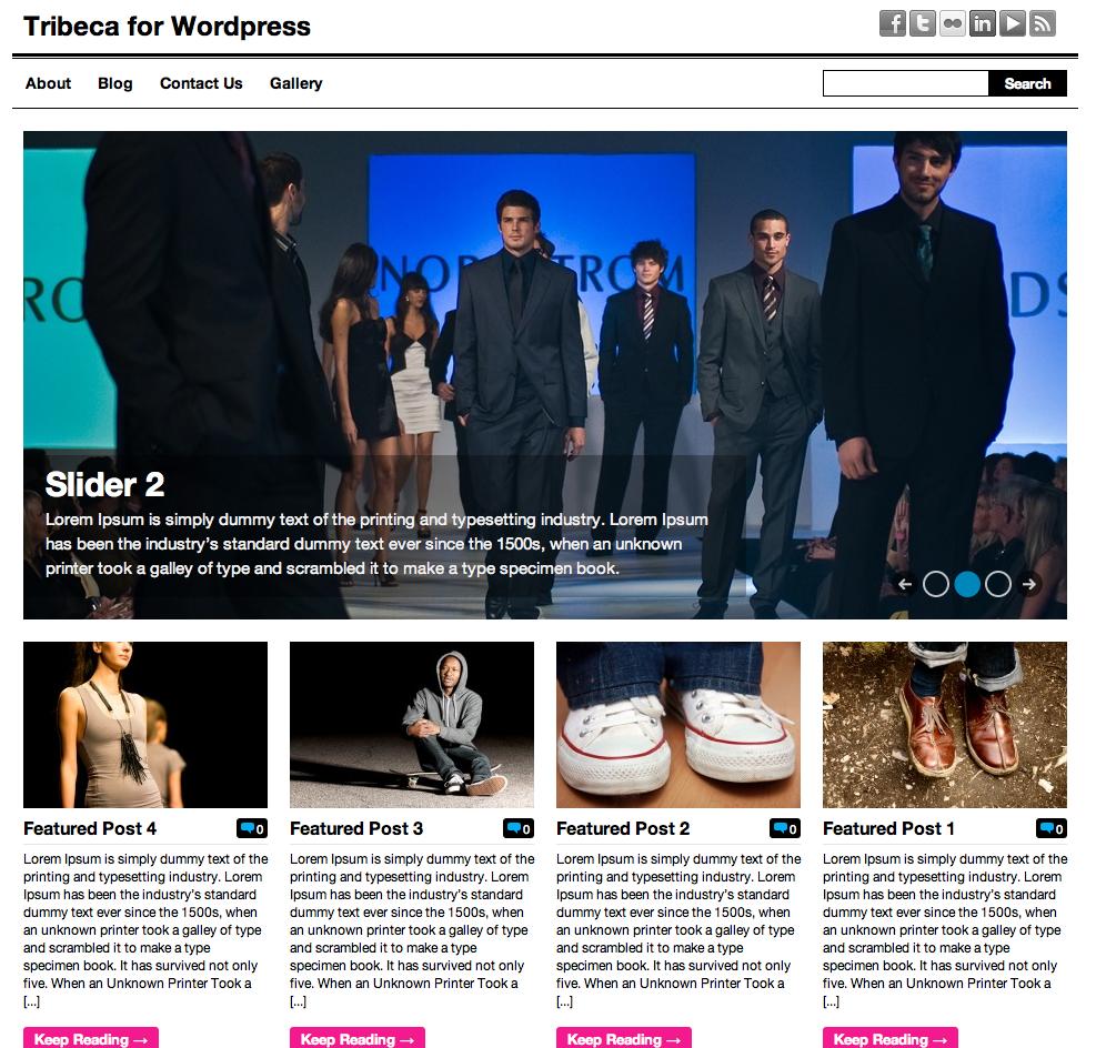 Tribeca HTML Theme