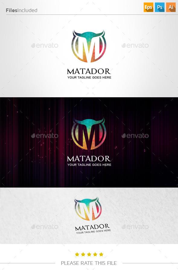 GraphicRiver Letter M Logo 10978916