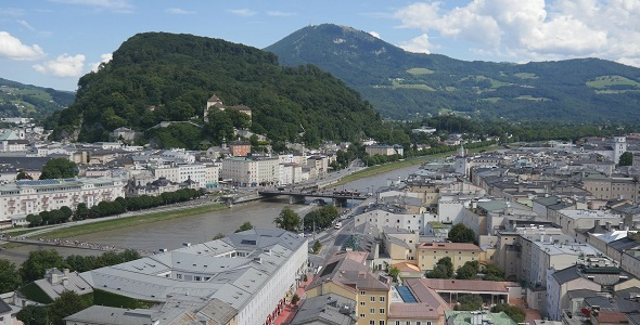 Salzburg Mozart town in Austria
