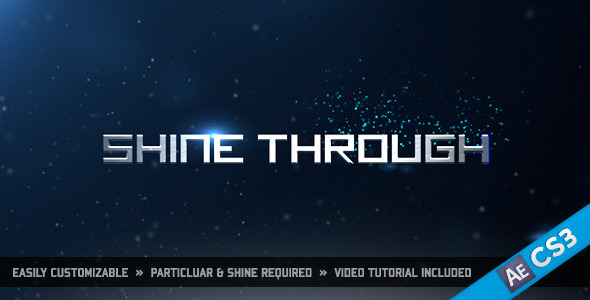 After Effects Project - VideoHive Shine Through 1026139