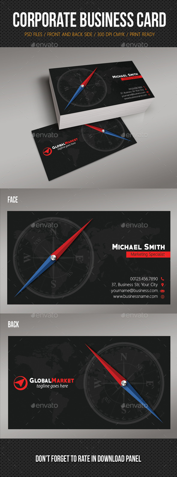 GraphicRiver Corporate Business Card 10 10979580