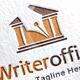 Writer Office Logo Template - GraphicRiver Item for Sale