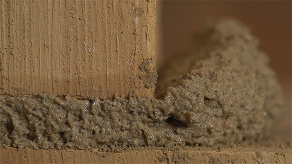 Brick Work With The Cement Part 1