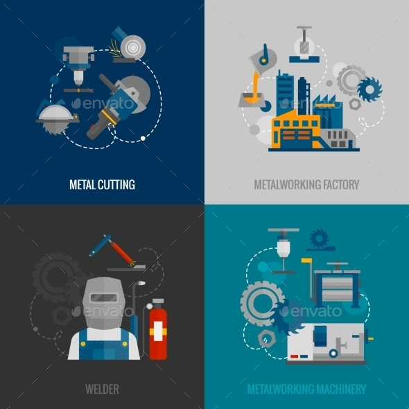 GraphicRiver Metalworking Factory 10980697