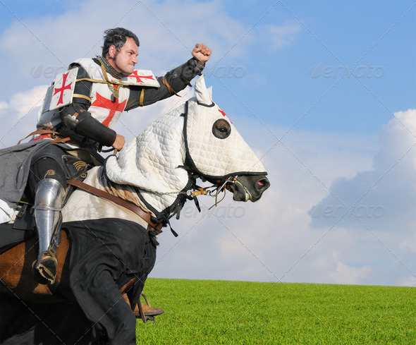 King Templar - Stock Photo - Images