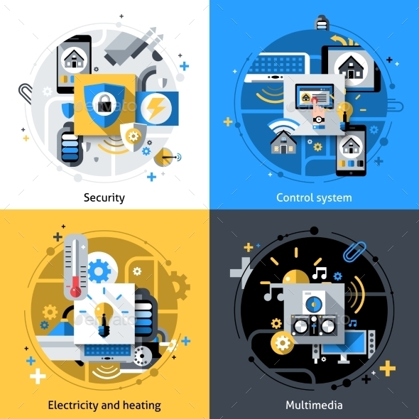 GraphicRiver Smart House Icons 10980757