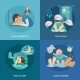 Sleep Time Flat - GraphicRiver Item for Sale