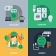Electricity Flat Icons - GraphicRiver Item for Sale