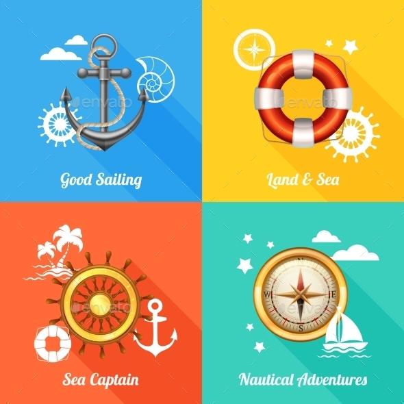 GraphicRiver Nautical 10980987