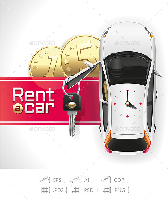 GraphicRiver Rent a Car on the Red Carpet 10981144