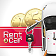 Rent a Car on the Red Carpet - GraphicRiver Item for Sale