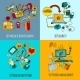 Internet Of Things Concept Set - GraphicRiver Item for Sale