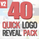 Quick Logo Reveal Pack - VideoHive Item for Sale