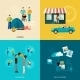 Friends Icons Set - GraphicRiver Item for Sale