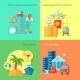 Travel Flat Icon Set - GraphicRiver Item for Sale