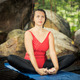 Bound angle pose. Baddha Konasana - PhotoDune Item for Sale