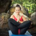 Practicing yoga. Garbhasana - PhotoDune Item for Sale