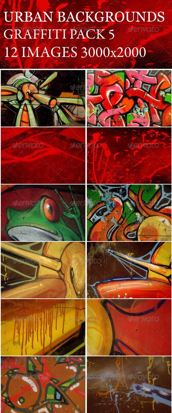 Urban backgrounds(v-5) - Art Textures