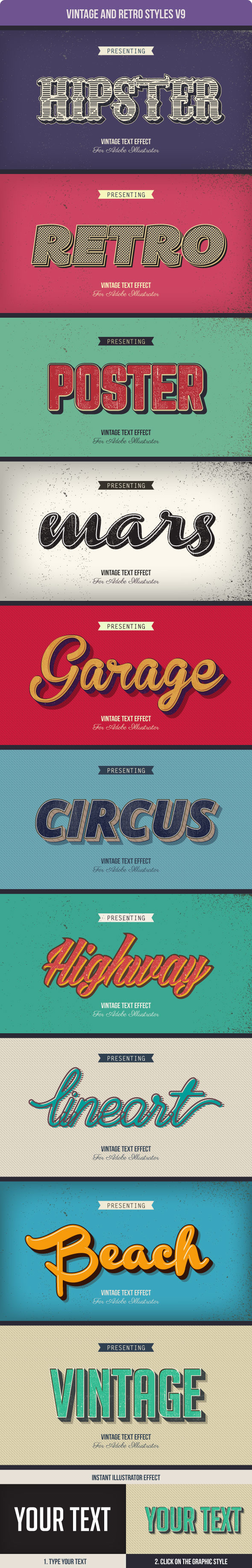 GraphicRiver Vintage and Retro Styles V9 10981418