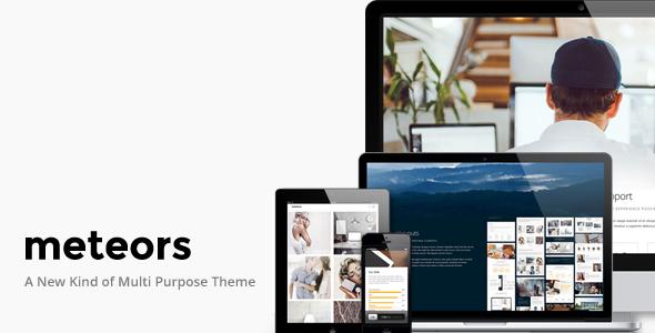 Meteors | Responsive Multi-Purpose Theme - Business Corporate