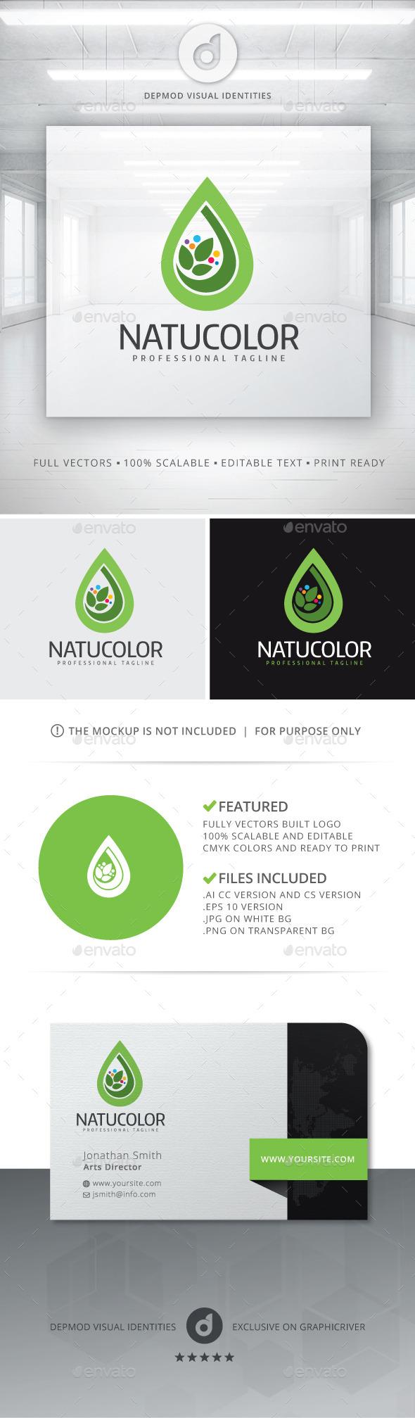 GraphicRiver NatuColor Logo 10981472