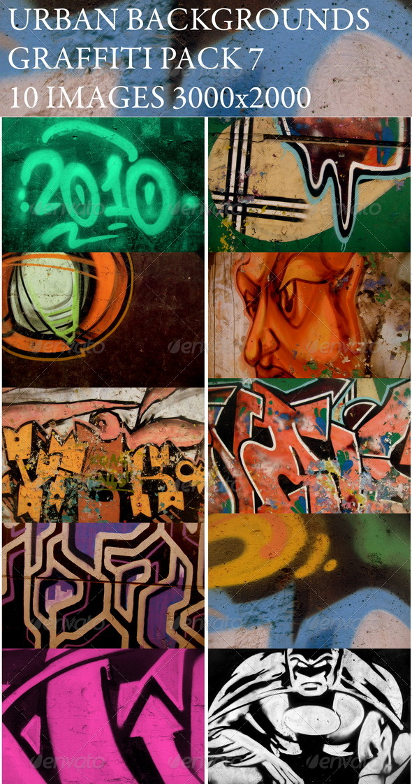 Urban backgrounds(v-7) - Art Textures