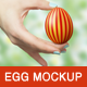 Easter Egg Mockup - GraphicRiver Item for Sale