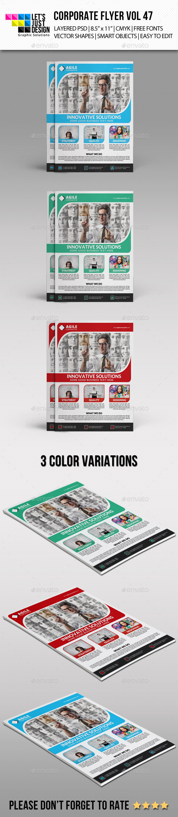 GraphicRiver Corporate Flyer Template Vol 47 10981689