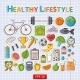 Healthy Lifestyle Sticker Set - GraphicRiver Item for Sale