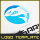 Angry Shark - Logo Template - GraphicRiver Item for Sale