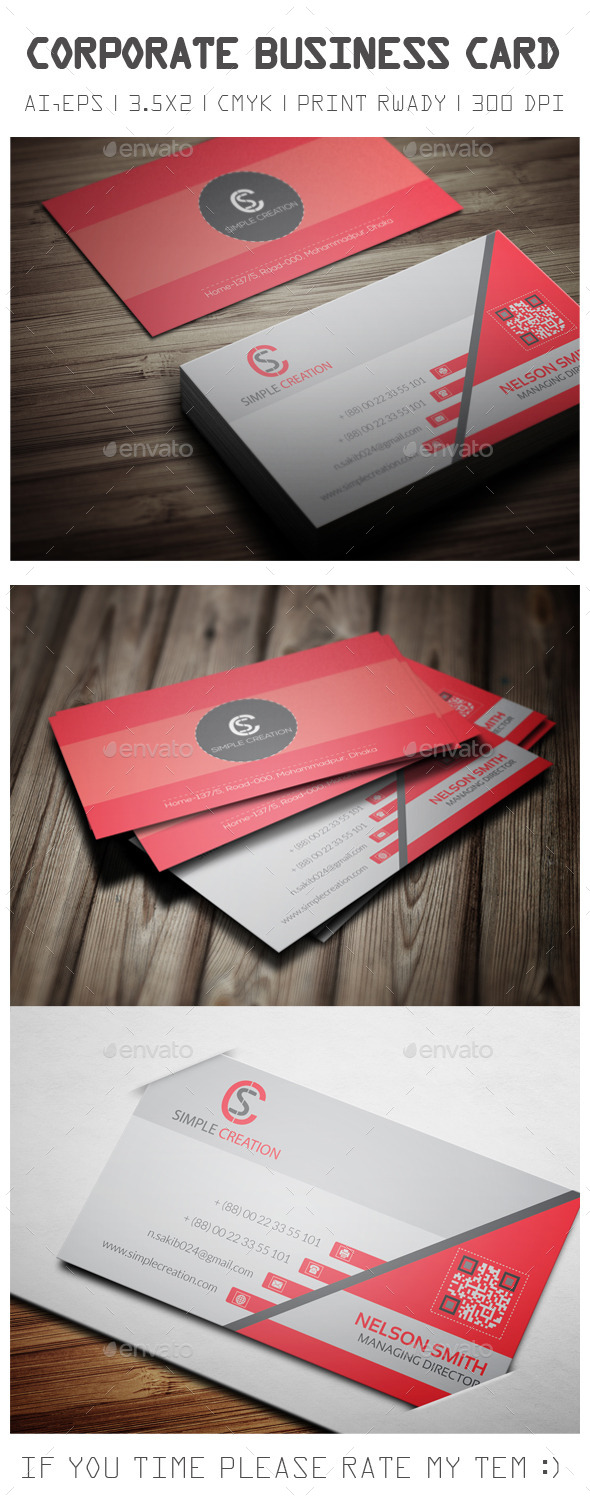 GraphicRiver Corporate Business Card 09 10982915