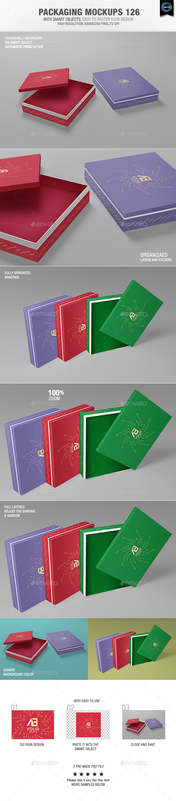 GraphicRiver Packaging Mock-ups 126 10982933