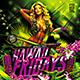 Flyer Hawaii Fridays Konnekt - GraphicRiver Item for Sale