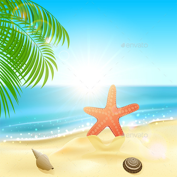GraphicRiver Beach 10983195
