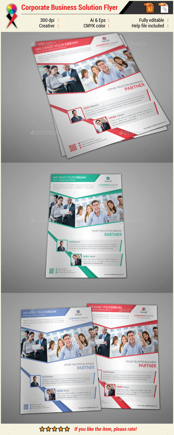 GraphicRiver Creative Corporate Business Flyer 10983239