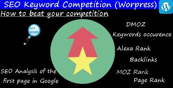 CodeCanyon SEO Keyword Competition Wordpress 10908745