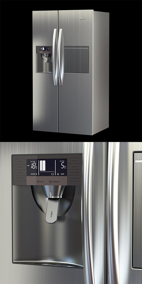Refrigerator - 3DOcean Item for Sale
