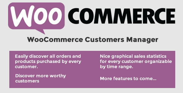 CodeCanyon WooCommerce Customers Manager 10965432