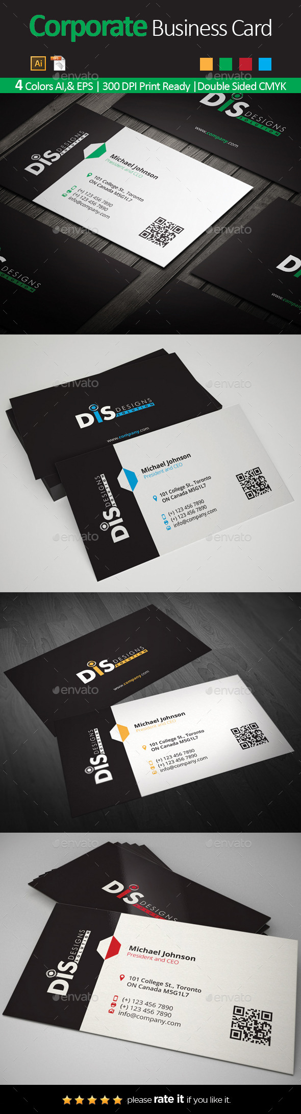 GraphicRiver Business Card 10983730